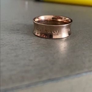 Tiffany & Co. 1837 Rose Gold Ring